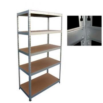 6-Tier Storage Movable Commercial Chrome Wire Rack Shelf Unit 24