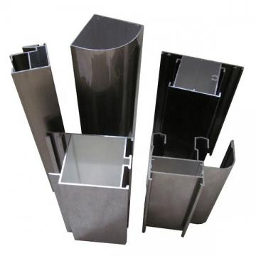 6005 Dovetailsilvery Anodized Industrial System Aluminium / Aluminum Profile