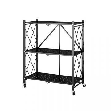 Heavy Duty Garage Storage Metal Wire Rack, Chrome Wire Shelving