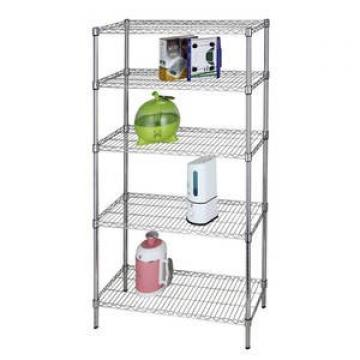 Multi-Purpose 4-Tier Large Capacity Industrial Steel Storage Rack Wire Shelving with NSF & BSCI Certificate