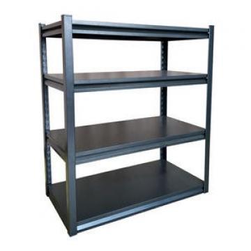 Heavy duty steel grating for shelf deck in car parts warehouse