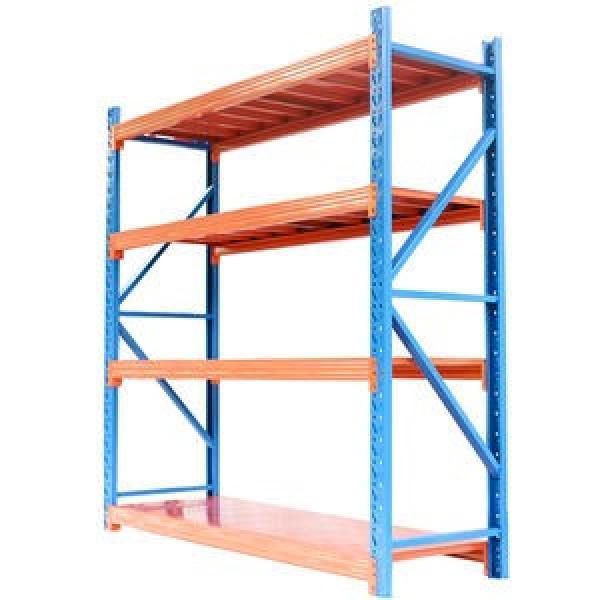 Heavy Duty Cold-Rolled Steel Rack Gondola Supermarket Shelf